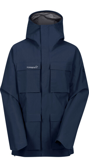 Norrøna M's Svalbard Gore-Tex Jacket Indigo Night